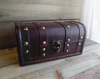 Ready to Ship ~~~ Rustic Gift Box, Ring Box, Wedding Gift Box, Bridesmaid Gift Box, Christmas Gift Box.