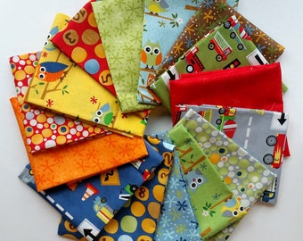 Jenn Ski - Ten Little Things - for MODA - 15 Fat Quarter Bundle
