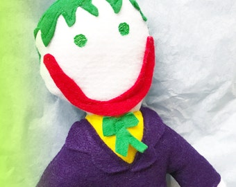 batmans evil villian The Joker soft action figure SALE