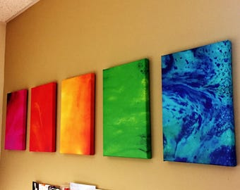 Abstract Elements Ink Painting Series- Multiple Buying Options! Free Shipping!