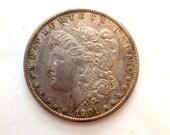 1901 Morgan Silver Dollar S Very Fine from Circulation San Francisco Mint