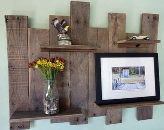Rustic Wall Shelves, Reclaimed Wood Wall Decor, Reclaimed Wood Shelves, Rustic Wall Decor, Reclaimed Wood Wall Shelves, Rustic Shelves
