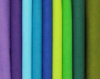 Cool Forest Bamboo Felt Palette - 10 x 11 in. - 9 Sheets
