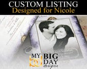 Nicole's Save the Date post cards: 105, with double sided printing