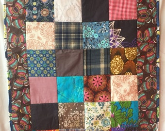 Down Home Southern Patchwork Crib Quilt