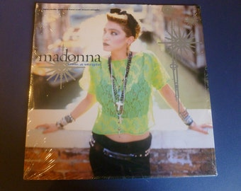Madonna Like A Virgin /Stay Vinyl Record Maxi Single 1984