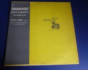 Tchaikovsky Violin Concerto In D Major, OP. 35 Vinyl Record MK 1502 Made in U.S.S.R. Artia Records 1960