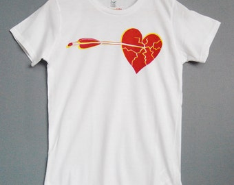 Heart Break printed t-shirt