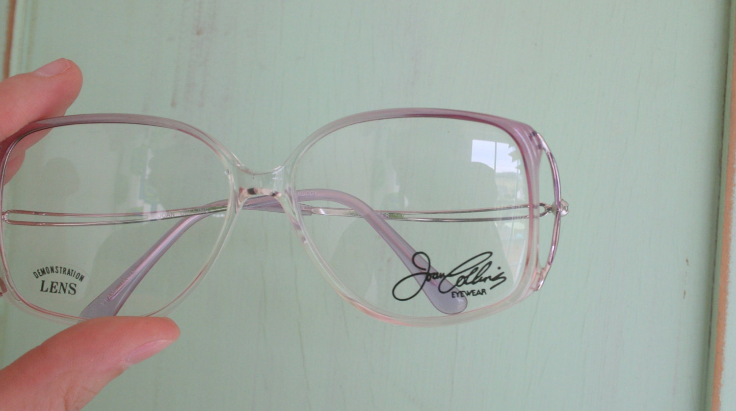 c39a5c02f1 Vintage JACKIE O Glasses..new old stock. classic. groovy. twiggy.