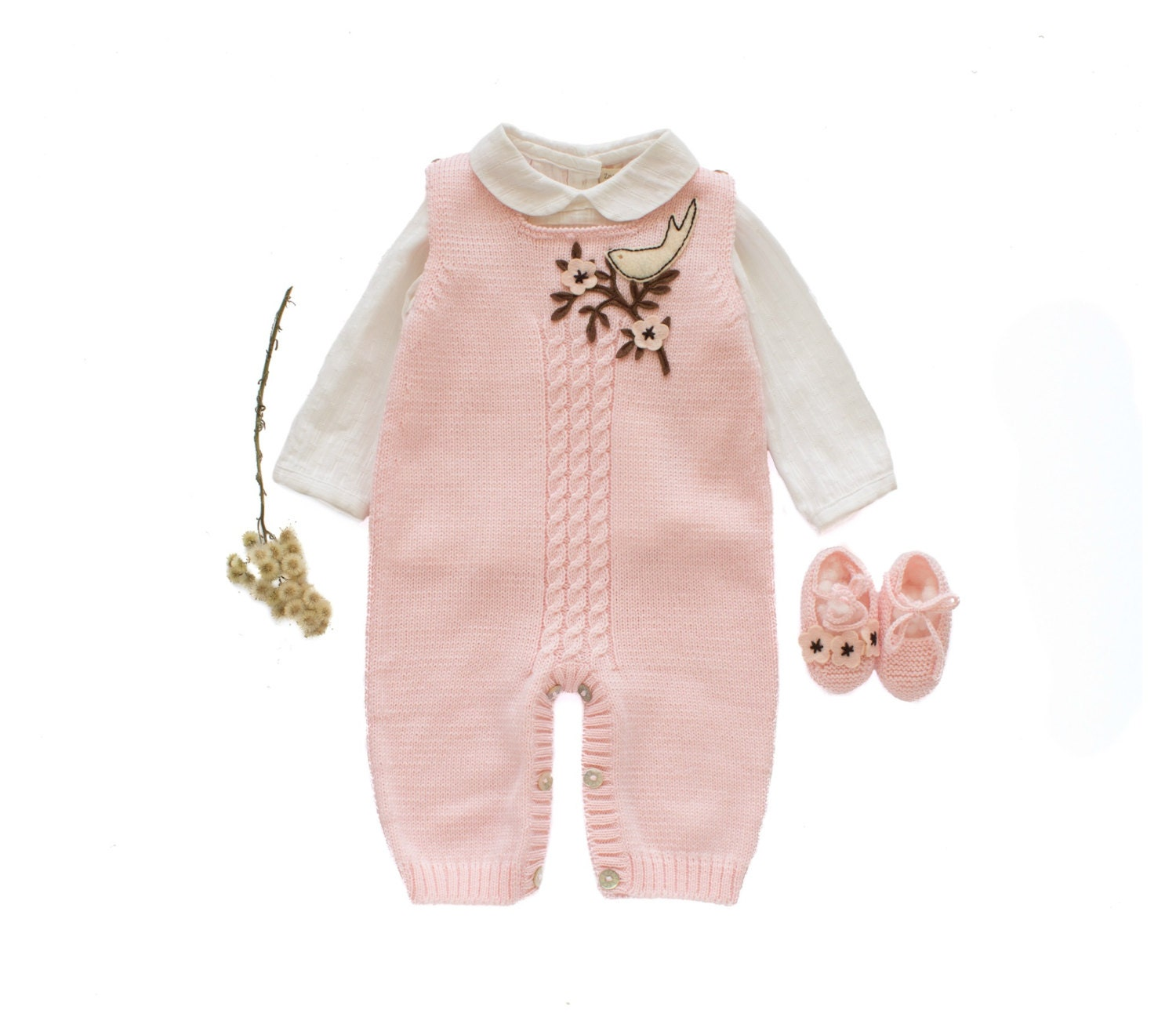 knit baby overalls knitted baby romper knitted baby set. Black Bedroom Furniture Sets. Home Design Ideas