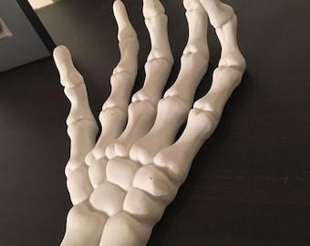 Large Resin Skeleton Hand