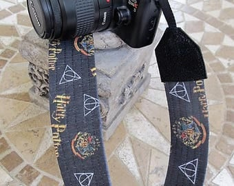 Harry Potter Camera Strap Hogwarts Deathly Hallows