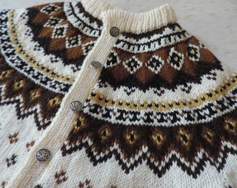 Vintage Norway Sweater Womens Sweater Pure New Wool Sweater Scandinavian Wool Sweater Norway Denmark Clothing