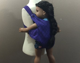"Doll Carrier Carry Dolls 9 inch Stuffies to 18"" Dolls Baby Doll Carrier"