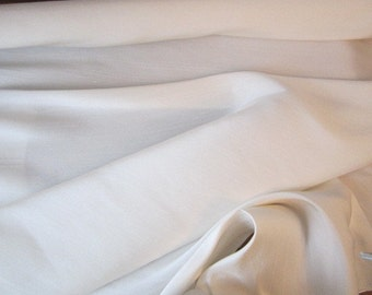 Silk Fabric by the yard - Natural Dupioni - 100% Silk - Luxurious Sewing Fabric by the Yard - No. F912-B