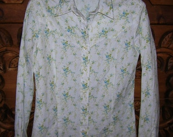 Cowboy Equipment 4Her Floral Cowgirl Western Shirt