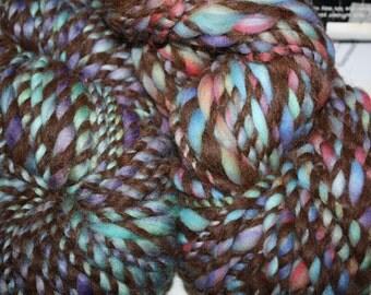 RawCo. 2 Skeins Bulky Chunky Art Yarn Hand spun yarn