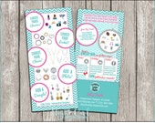 Origami Owl - O2 - Consultant Designer Rack Cards - design a locket