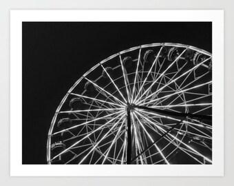 Ferries Wheel Photography Print
