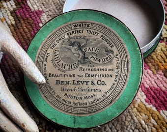 Not Only Was Ben Levy's Toilet Powder Perfect So Were His Antique Boxes