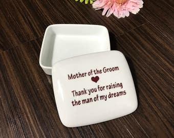 SALE Mother-of-the-Groom-Gift-from-Bride | Keepsake Box | Mother-of-the-Groom | Wedding Favors from my Charleston, SC Studio