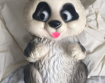 Make me an Offer! Giant rubber Vinyl Panda Bank