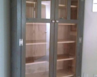 Large display or storage cabinet ready to go, sale price, discounted for the season, deep discount for fast sale.  Delivery next week