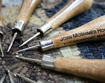 Joan Moshimer Hook for Rug Hooking - Coarse Size