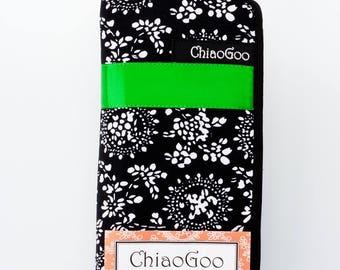 "ChiaoGoo Bamboo 6"" (15 cm) Double Point Knitting Needle Set"