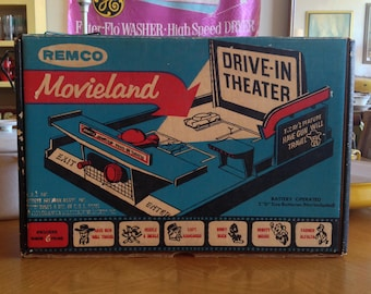 Remco Movieland Drive-In Theater Projector