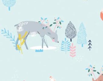 Pine Grove Main in Multi, Dear Stella Fabrics, 100% Cotton Fabric, Stella-697 Multi