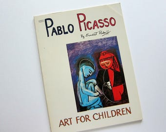 PABLO PICASSO Children's Art Book, By Ernest Raboff, 1982 Book