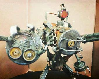 Assemblage heavy assault droid