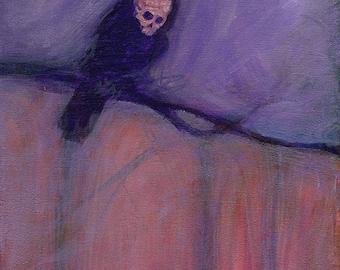 Original Skelecrow Painting - Harbingers II Series - Schismic