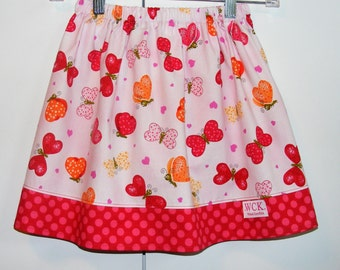Butterfly Kisses   Skirt (24 mos, 2T, 3T, 4T, 5, 6)