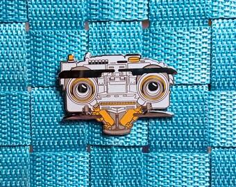 Short Circuit Number 5 Hard Enamel Pin 1980s Nostalgia / Lapel Pin / Hat Pin by Tom Ryan's Studio