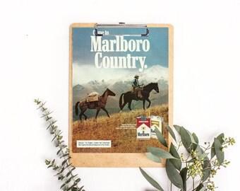 Horse Interior Design • Cute Horses • Chestnut Horse • Marlboro Cigarette Ad • Riding Horses • Vintage Smoking • Retro Cigarette Carton Pic
