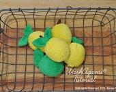 Washcloth Lemons and Lime...