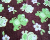 Frogs! Fleece Blanket