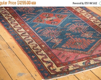 10% OFF RUG SALE Discounted 3x6 Antique Malayer Rug Runner