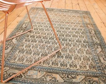 3.5x5 Vintage Mir Sarouk Rug