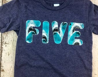 Shark shirt, Shark party, Boy's Birthday shirt, shark decor, shark invite, aquarium underwater party beach boy's clothing