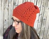 Crochet Pattern ~ All Ages Lincoln Beanie ~ Crochet Pattern