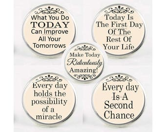 18mm, Snap Charm, INSPIRATIONAL SAYINGS, Chunk Charm, Interchangeable Jewelry, Word Charm, Snaps, Button Charm,  For Bracelet, Pendant #2