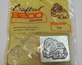 Vintage Craftool 8200 Series Leather Stamp, Leo the Lion Leather Stamp, Leatherworking, Punches & Stamps, New/Old Stock, Leather Craft TOOL