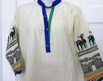 Cotton tunic size 42