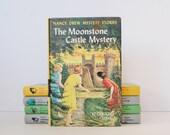 The Moonstone Castle Mystery Nancy Drew Book by Carolyn Keene