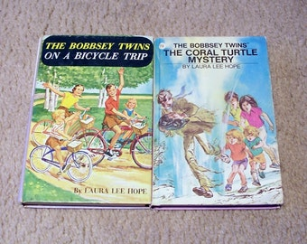 The Bobbsey Twins Vintage Books - Laura Lee Hope - You Choose Which One