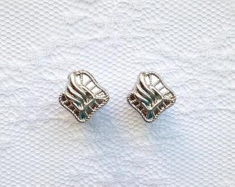 Silver Design Vintage Style Wedding Pair Plugs Gauges Size: 0g (8mm), 00g (10mm)