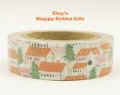 Czech Village - Daily Like - Japanese Washi Masking Tape - 11 yard - No Discount